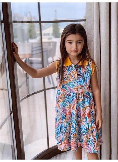 Hilal Akıncı Kids Elbise Sarı